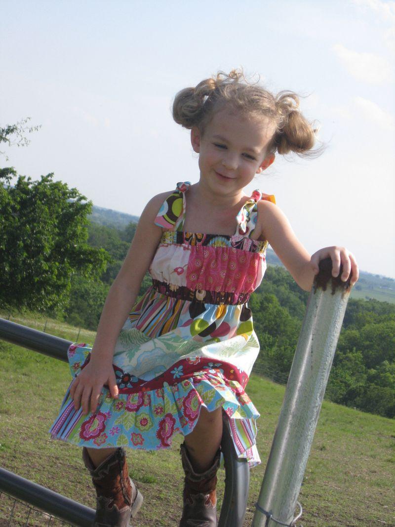 Scrappy dress 2